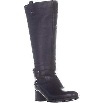 Naturalizer Kvinnors kim Canvas Almond Toe Knä High Fashion Boots