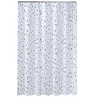 Water Drop Pattern shower curtain 240x200cm
