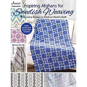 Inspiring Afghans for Swedish Weaving - 8 Stunning Designs to Stitch o