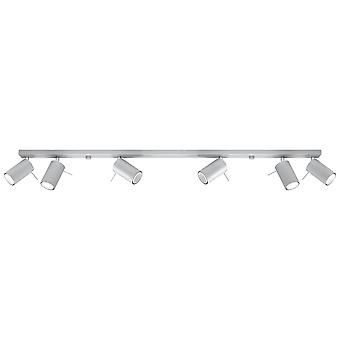 Sollux RING 6 Light Spotlight Bar Grey SL.0454