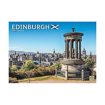 Otter House Edinburgh A4 2021 Calendar