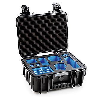 B&W Osmo Case Type 3000 pour DJI Osmo Action, Noir