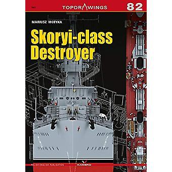 Skoryi-Class Destroyer by Mariusz Motyka - 9788366148512 Book