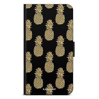 Bjornberry Wallet Case iPhone 6/6s - Golden Pineapple
