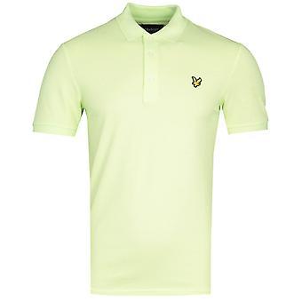 Lyle & Scott Slim Stretch Skarp Grønn Polo Skjorte