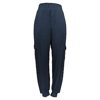 Anybody Women's Pants Jogger Style w/ Comfort Fit Navy Blue A310051