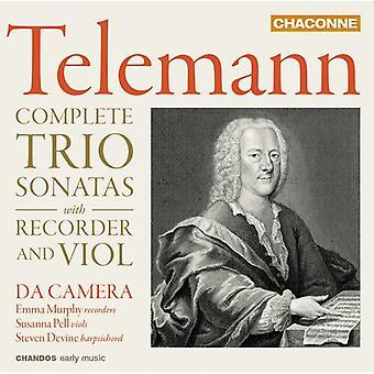 Telemann / Murphy / Devine - Telemann / Murphy / Devine: Complete Trio Sonatas [CD] USA import