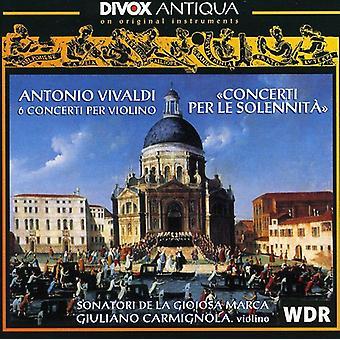 A. Vivaldi - Vivaldi: Concerti Per Le Solennita [CD] USA import