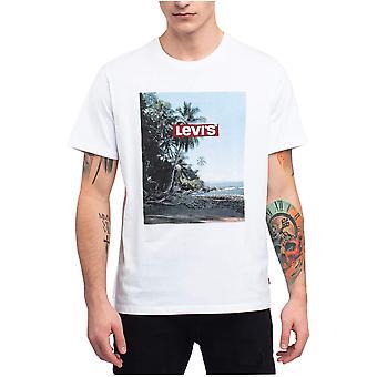 Levi'S Grafik Crewneck Tee 224910639 universal Sommer Herren T-shirt