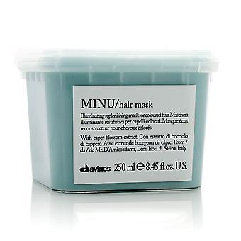 Máscara de reposição iluminadora minu (para cabelos coloridos) 210685 250ml/8.73oz