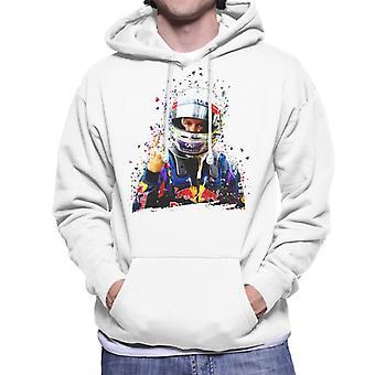 Motorsport Images Sebastian Vettel Interlagos 2013 Men's Hooded Sweatshirt