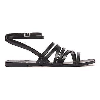 Vagabond Tia Multi Strap Womens Black Sandals