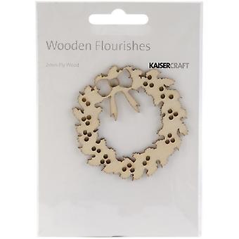 Wood Flourishes-Wreath