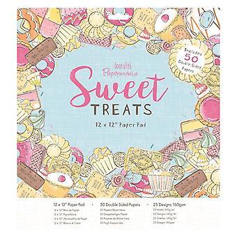 Papermania Sweet Treats 12x12 Inch Paper Pad