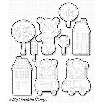 Mis cosas favoritas Die-Namics Town Bear