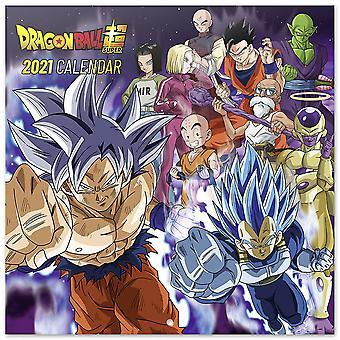 Dragon Ball Kalender 2021 Kalender 2021, 12 Maandelijkse kalender.