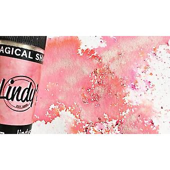 Lindy's Stamp Gang Alpine Ice Rose Magical Shaker