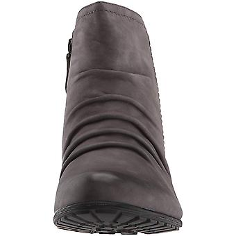 Cobb Hill Womens Gratasha Panel Leather Closed Toe Ankle Fashion Boots