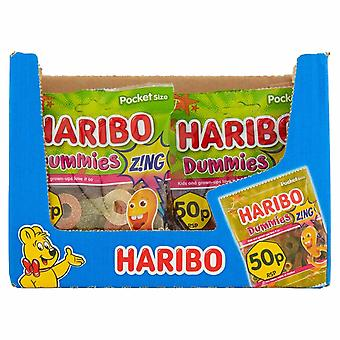 HARIBO Dummies Zing 1.4kg, Bulk Sweets, 20 packs x 70g