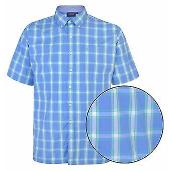 ESPIONAGE Espionage Casual Check Short Sleeve Shirt