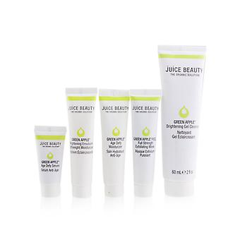 Brightening Solutions Set: 1x Green Apple Brightening Gel Cleanser - 60ml/2oz + 1x Green Apple Age Defy Serum - 7.8ml/0.