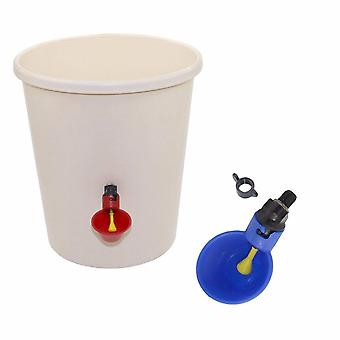 Automatic Drinker Chicken Feeder Plastic Poultry Water Drinking Cups Easy