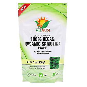 VIESUN, 100% Vegan Organic Spirulina Powder, 5 oz (150 g)