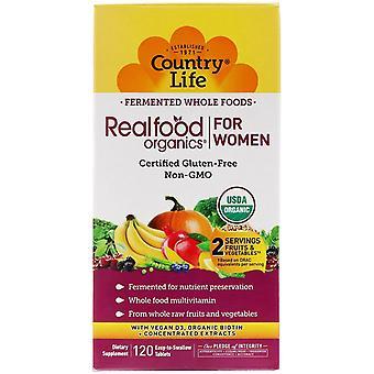 Vita di campagna, Realfood Organics per le donne, 120 compresse facili da ingoiare