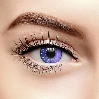 Violet Galaxy Colored Contact Lenses (90 Day)