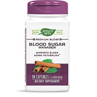 Nature's Way Blood Sugar Manager Vegan Capsules