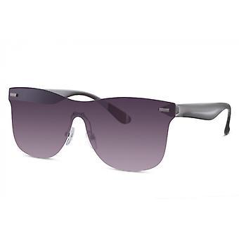 النظارات الشمسية الرجال مستطيلة الرجال راندلس كات. 3 رمادي / بنفسجي