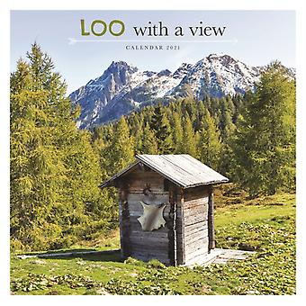 Loo with a View Square Wall Calendar 2021