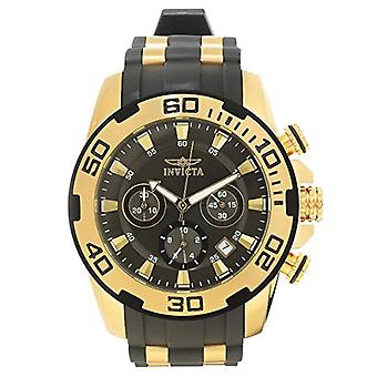 Invicta  Pro Diver 22344  Silicone, Stainless Steel Chronograph  Watch