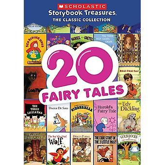 20 cuentos de hadas - importación de Estados Unidos Scholastic libro tesoros [DVD]