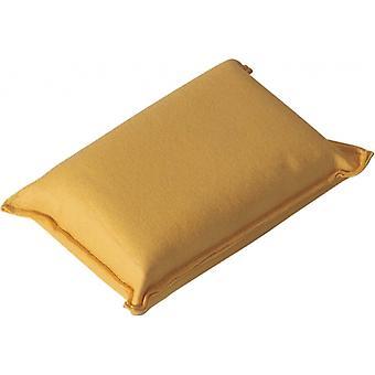 éponge de mer 13 x 8 x 5 cm jaune
