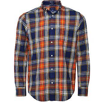 GANT Regelmæssig Fit Windblown Flannel Plaid Shirt