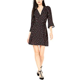 French Connection | Verona Floral Print Surplice Neck Casual Dress