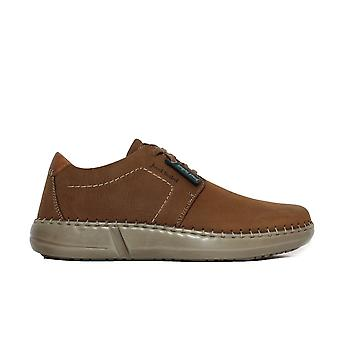 Josef Seibel Louis 01 Brown Leather Mens Casual Shoes