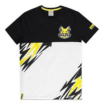 Pokemon Olympics Team Pika T-paita Miesten Suuri Monivärinen (TS704111POK-L)