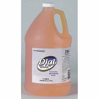 Dial Shampoo and Body Wash 1 gal. Jug Peach Scent, 1 Each