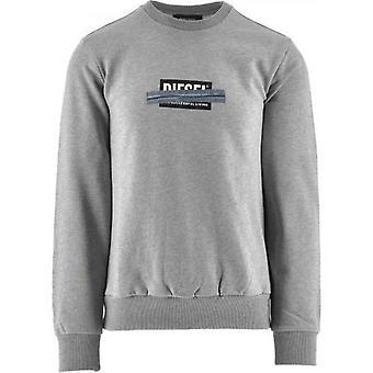 Diesel Grey S Girk N83 Sweatshirt