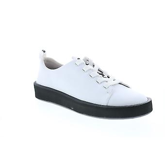 Camper Courb Mulheres Sapatos de Tênis Euro de Couro Branco