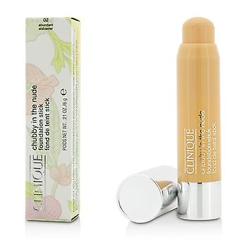 Clinique Chubby In The Nude Foundation Stick - # 02 Abundant Alabaster 6g/0.21oz