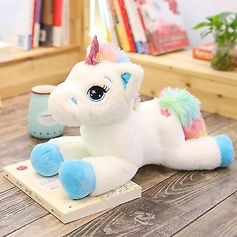 Unicorn Plush Toy, Soft Stuffed Rainbow Doll, Animal, Horse,