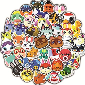 Animal Crossing Game Graffiti Stickers - Motorcycle, Luggage, Guitar,