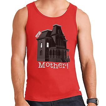 Psycho Norman Bates Home Mother Men's Chaleco