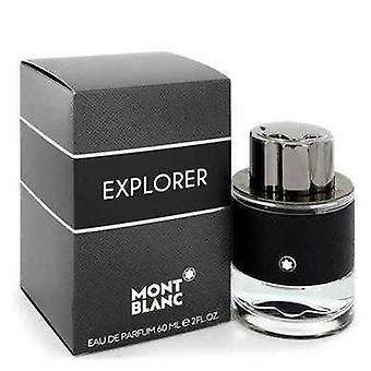 Montblanc Explorer By Mont Blanc Eau De Parfum Spray 2 Oz (men) V728-546182