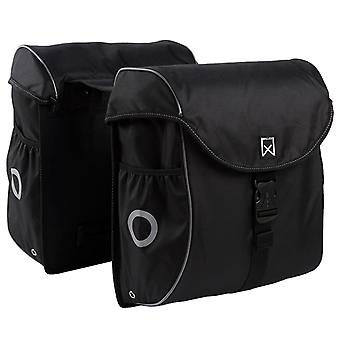 Willex Bicycle Bags 38 L Black and Silver 16101