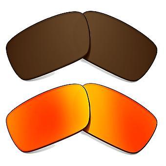 Polarized Replacement Lenses for Oakley Crankcase Sunglasses Anti-Scratch Anti-Glare UV400 by SeekOptics