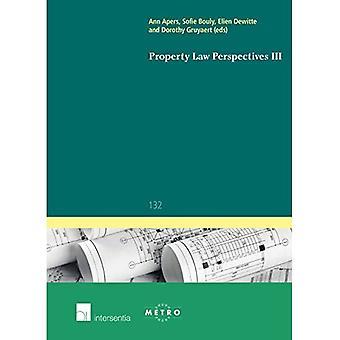 Vastgoedrecht Perspectieven III (Ius Commune Europaeum)